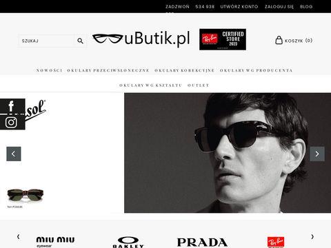 UButik - okulary korekcyjne i przeciwsłoneczne