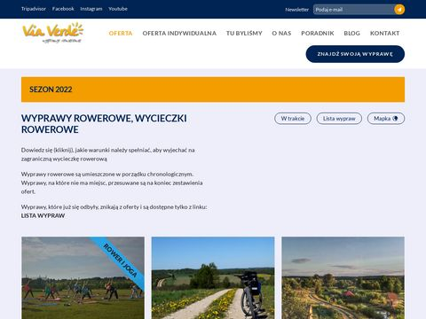 Podróże rowerowe - viaverde.com.pl