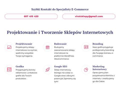 Projektowanie Sklep贸w Internetowych Wroc艂aw. Sklepy Internetowe | Viral Sklepy
