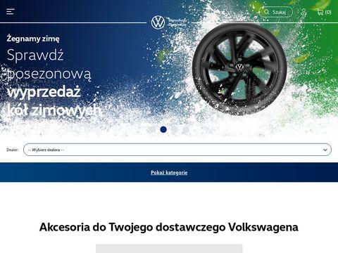Sklep internetowy Volkswagen Samochody Użytkowe