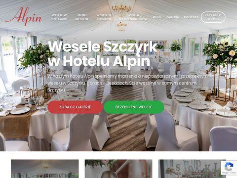 Wesele w Szczyrku | Hotel Alpin