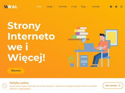 Strony Internetowe Nowy SÄ…cz | Agencja Wiral