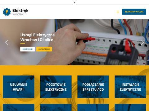 Wroclaw-elektryk.com - usuwanie awarii