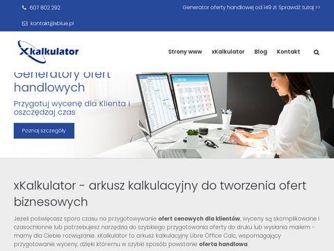 Gotowy wz贸r oferty handlowej - xblue.pl
