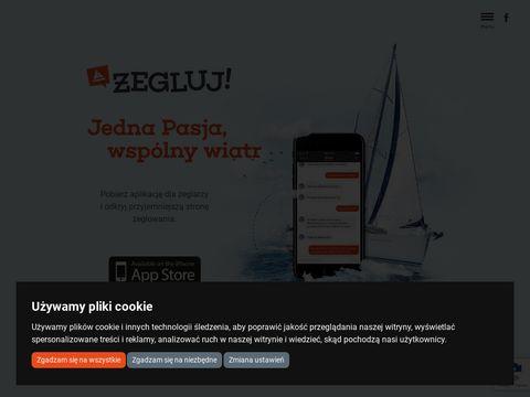 Aplikacja dla żeglarzy