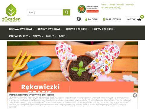 Ogrodniczy sklep internetowy, ro艣liny ogrodowe - zgarden.pl