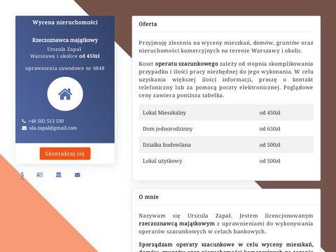 Wycena nieruchomoÅ›ci Warszawa