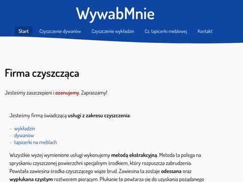 WywabMnie Nowa-Huta - Firma pior膮ca tapicerki
