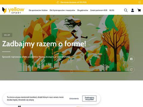 Bandaże elastyczne - Yellow Sport