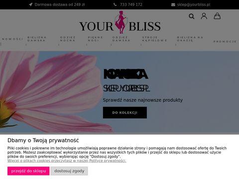 Yourbliss.pl - Sklep z bielizn膮