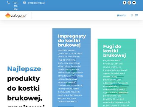 Fugi do kostki brukowej - zafuguj.pl