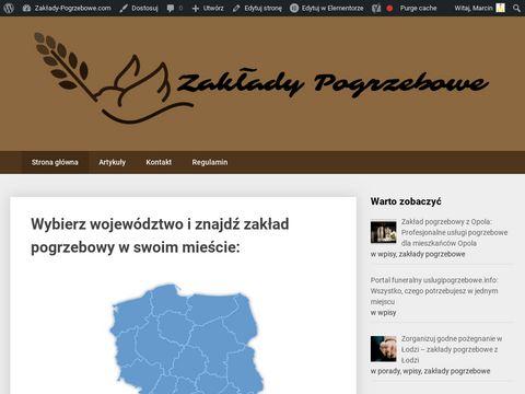 Pogrzeby w Polsce, organizacja pogrzebów w twojej okolicy