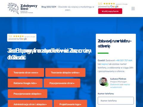 Agencja interaktywna - Zdobywcy Sieci