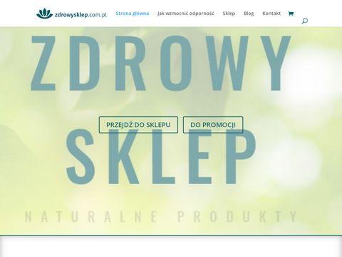 Zdrowy sklep - naturalne suplementy