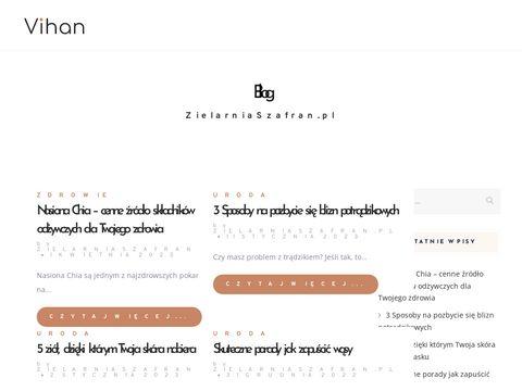 Zielarski sklep internetowy online   Zielarnia Szafran