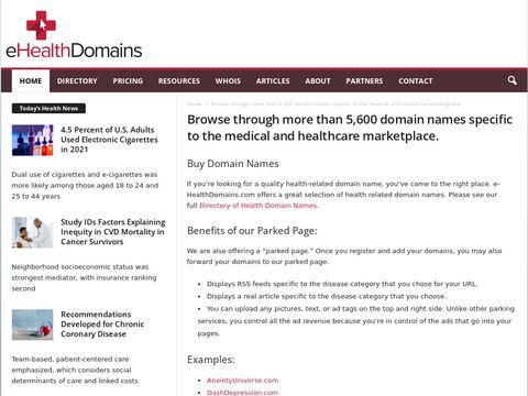 e-healthdomains.com