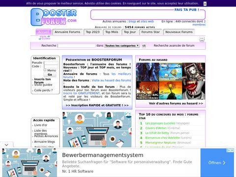 boosterforum.com