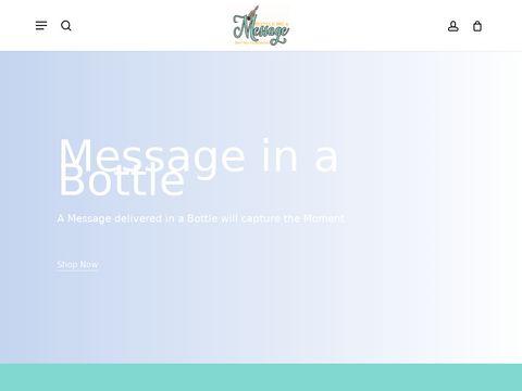 bottlemeamessage.com