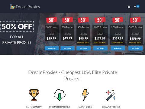 dreamproxies.com