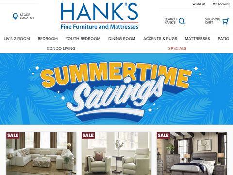 hanksfurniture.com