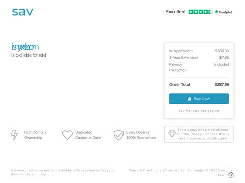 ismyweb.com