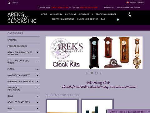 areksmurrayclock.com