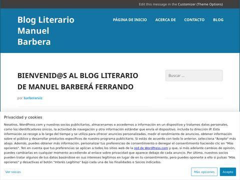 Blog Literario Manuel Barbera thumbnail