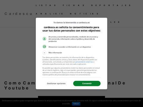 Cardescu Web thumbnail