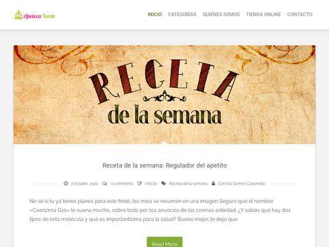 Remedios Naturales Apoteca Verde thumbnail