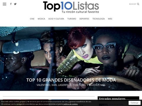 Top 10 Listas : Blog Cultural thumbnail