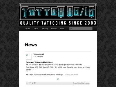 Tattoo 08/15