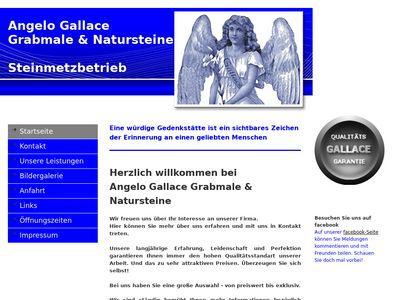 A. Gallace Grabmale & Natursteine