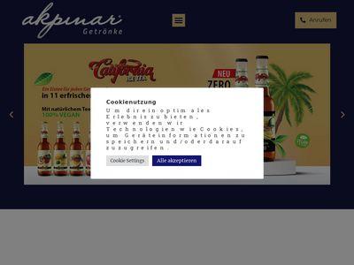 Akpinar Getränke Einzel- und Grosshandel