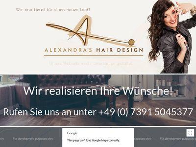 Alexandras Hair Design