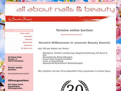 All About Nails, Nagelstudio Dinslaken