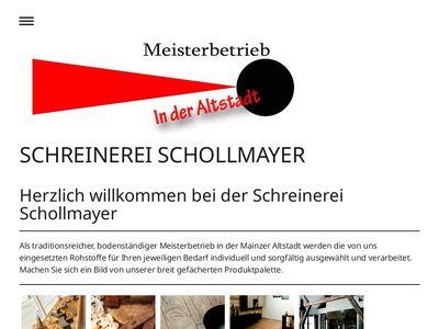Schreinerei Schollmayer