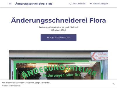 Flora Änderungsschneiderei