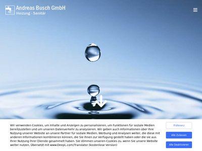 Andreas Busch GmbH Sanitär und Heizung