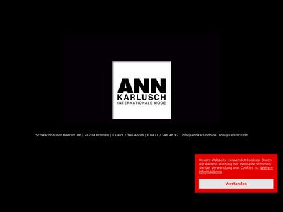 Internationale Mode Ann Karlusch