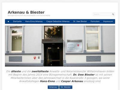 Arkenau Hans-Enno RA u. Notar a.D.