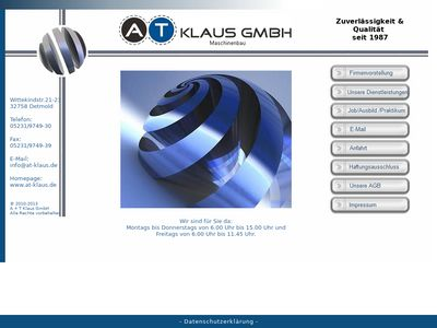 A. + T. Klaus GmbH Maschinenbau