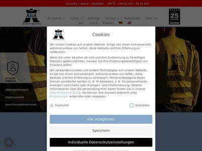 Sicherheitsdienst A&A Security Münster