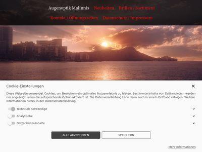 Augenoptik Malinnis