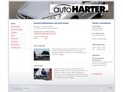 Auto Harter, Inh. Bettina Harter