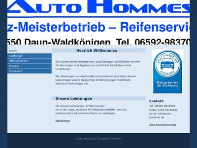 Auto Hommes KFZ-Werkstatt
