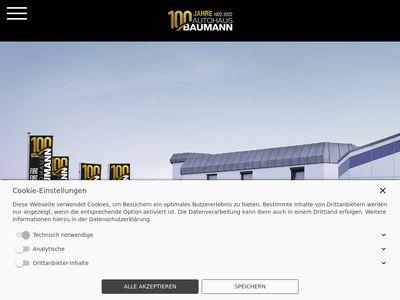 Autohaus Baumann GmbH & Co. KG