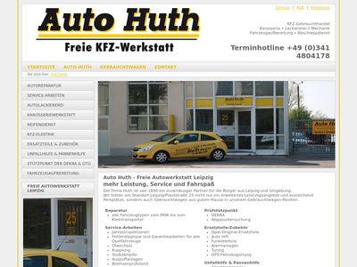 Auto Huth GmbH Freie KFZ-Werkstatt