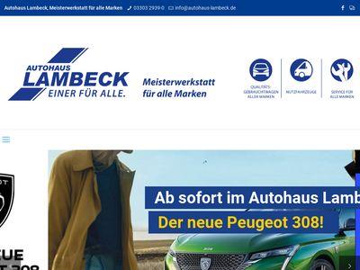 Autohaus Uwe Lambeck GmbH