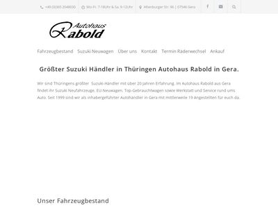 Autohaus Rabold OHG
