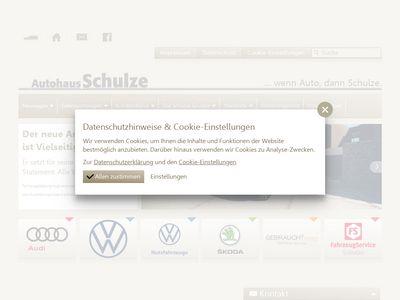 Autohaus Schulze GmbH NL Spremberg